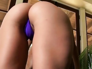 Angel faced bombshell Aaliyah Love with tiny tities and shaved pussy cant...