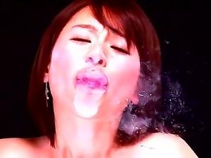 Watch the scene with this so cool-looking Japanese girlie Yuzuka Kinoshita...