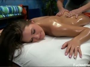Hot Abby Cross massage fuck
