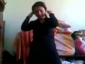 Cute & Shy Arab College Girlfriend free