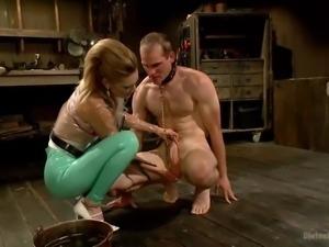 kinky bitch and her slave
