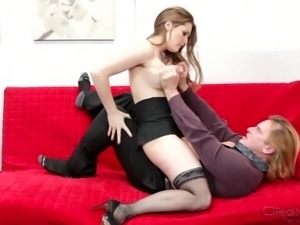 she sits on his face @ big tit fantasies #02
