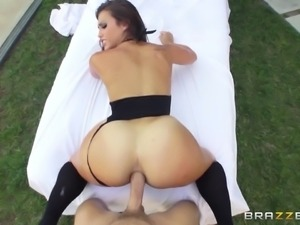 pov anal action with kelsi monroe