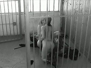 Jail chicks eating dripping pussies