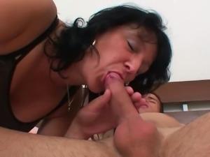 Mature moms Hailey and Magda goes wild at sex