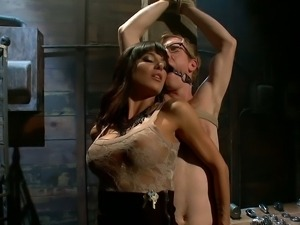 Gia takes Ned on a sexual ride of his life