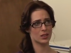 Lesbian Office Seduction
