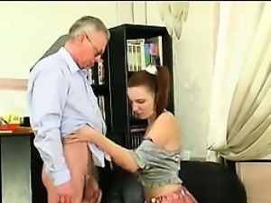 Russian Teen Fucked By Her Step Father