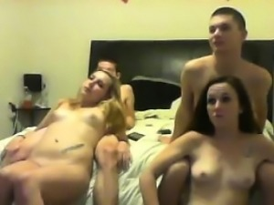 Group play on cam show