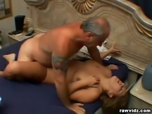 Busty blonde belle Claire James enjoys a hard cock
