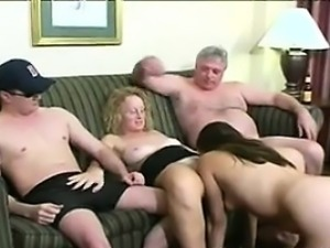 Horny Mature People Having Sex
