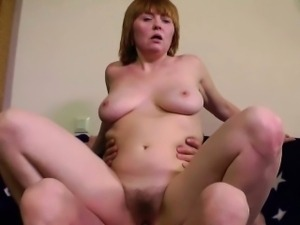 Milf Fuck Anal in her Asshole by Old Men with Cumshot