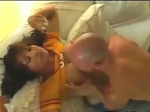 Busty Shemale Enjoying Mutual Fucking