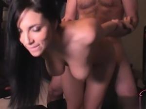 Sexy student cum kiss