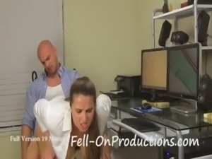 Mom(Madisin Lee) Fucks Son before Dad Gets Home in All Work No Play free