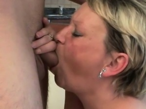 Mom will empty your cum filled balls