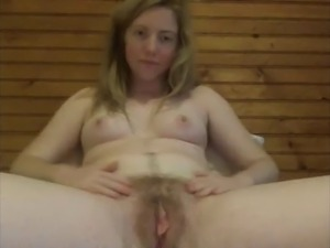 Nice Hairy Pussy