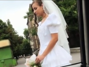 Dumped bride Amirah Adara ends up fucked in the publc