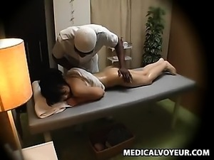 Wife molested by black masseur