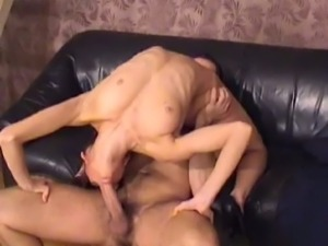 Awesome contortion kamasutra style of fucking