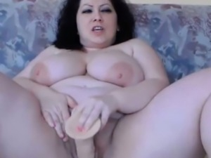 Fat queen bbw DIVINE masturbates phat vagina