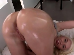 Stevie Bends Over For Great Fucking And Cumshot