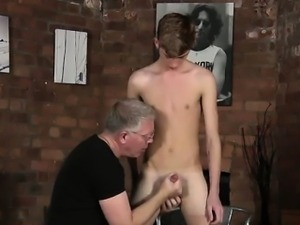 Twink movie The dudes sensitive bum is completely d as the m