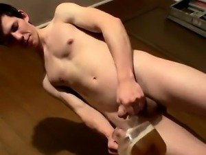 Gay sex He\'s also been saving up a spunk geyser and tugging