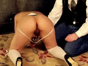 a lesson in bondage from the master