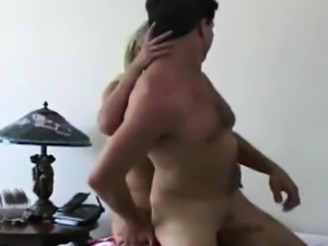 Blonde Femdom Fucks Guy Bottom