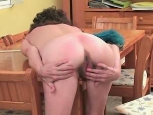 Kinky British mommas having a break to masturbate