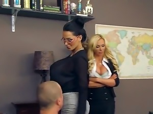 Check out this lustful and horny teacher fucks student who loves to fuck her...