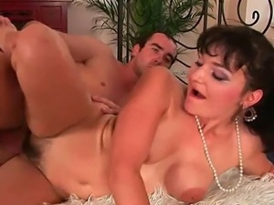 Mature moms go crazy for young cocks