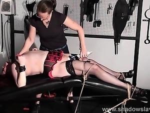 Lesbian bdsm of amateur slave girl Alex