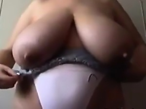Large And Saggy Breasts Being Shown Off