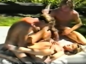 Sexy model friends fuck