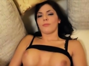 Slutty girlfriend first time anal action while being filmed
