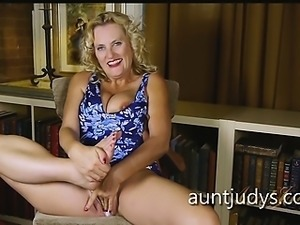 Aunt Judy\'s Interviews the Perpetually Horny Lady Dalbin