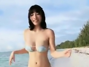 Japanese Babe At The Beach Non Nude