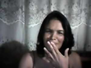 Mature Filipina Plays With Her Pussy