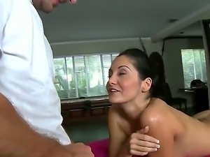 Ava Addams needs a massage and wants to feel relaxed. The guy who is doing...
