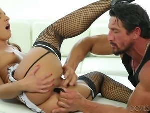 lady on high heels sucks cock @ angelic asses #05