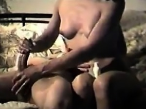 Indian Housewife Giving A Great Handjob