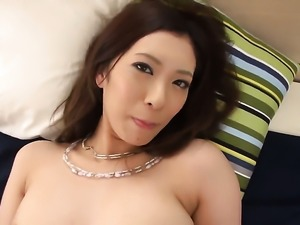 Hot Asian fucks in bed