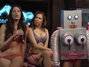 sexy girls participate at morning show @ season 1 ep. 671