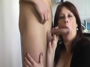 She wanted young dick in mature pussy