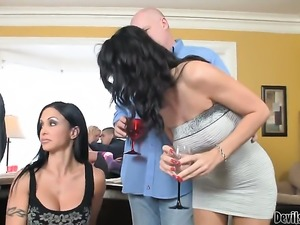 Swingers have a sex party