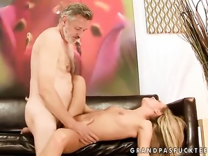 Blonde Bianca Arden fucks six ways from Sunday