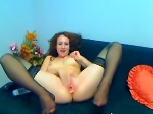 Bigtitted twat Oils her chest and playthings her mound hdv