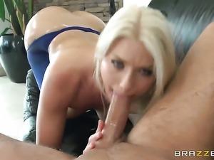 Anikka Albrite gets an anal gangbang